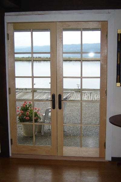 French doors exterior exterior french door installation for Installing french doors
