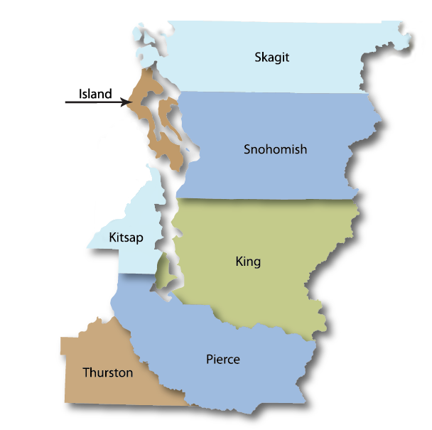 Service Area Map Washington Energy Services