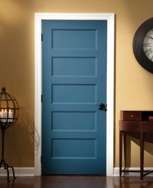 Pre painted interior doors