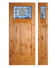 Knotty Alder Wood Exterior Doors Washington Energy Services