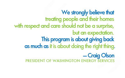 Preferred Customer Washington Energy Services