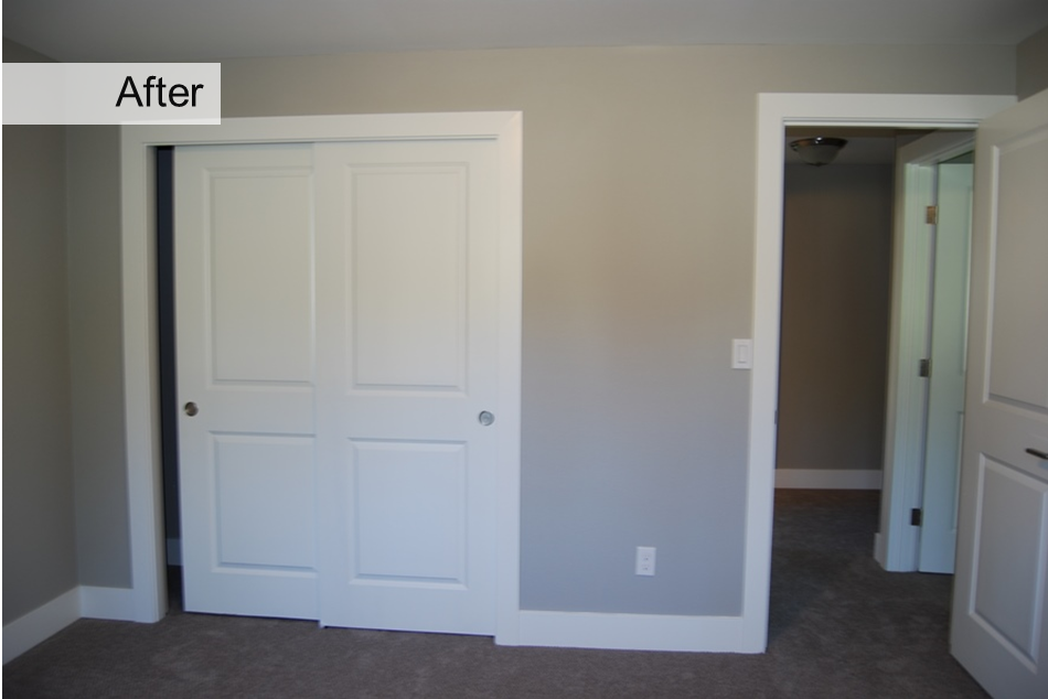 Home upgrades before after door transformations washington energy services for Interior doors installation services