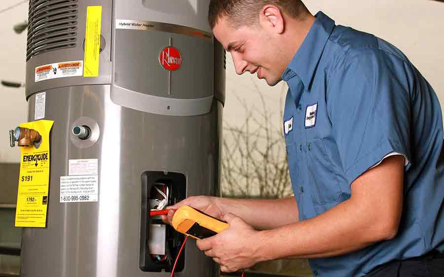 ... water heater repair contractor reliable water heater installation cost