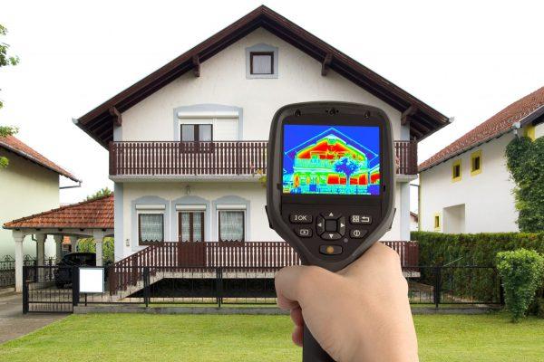 audit with infrared gun