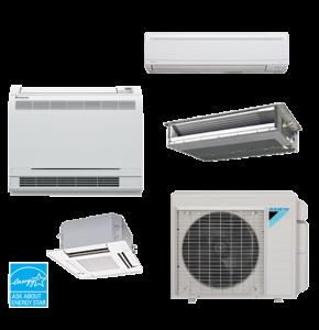 Daikin Multi-Zone Ductless Heat Pumps tacoma wa