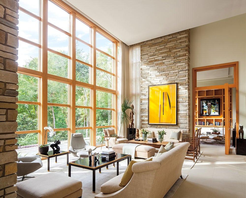 Seattle anderson wood windows e series washington energy for Residential window design