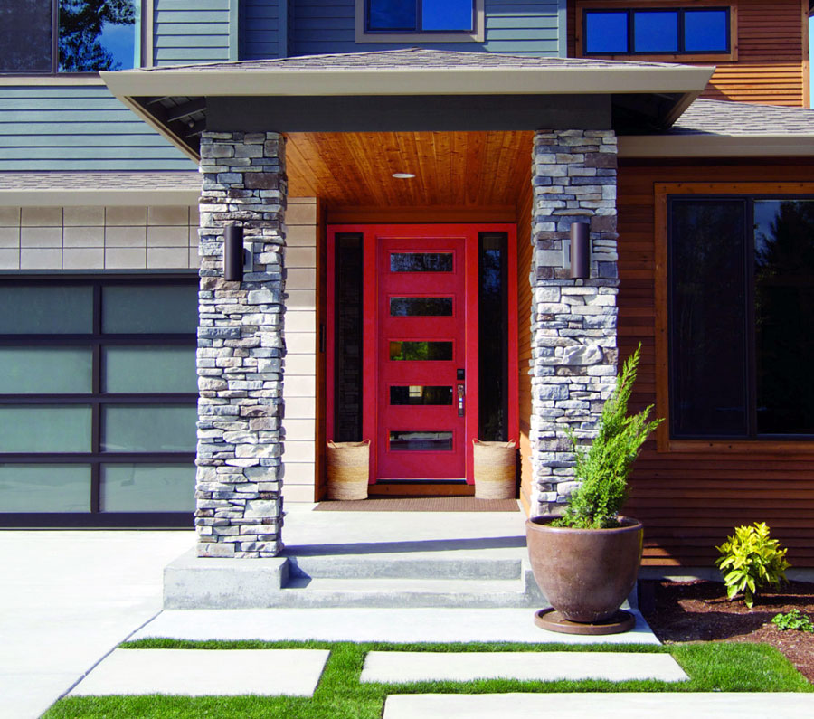 Codel Eloquence Fiberglass Door Codel Fiberglass Door ... & Seattle Fiberglass Exterior Door Installation | Washington Energy ...