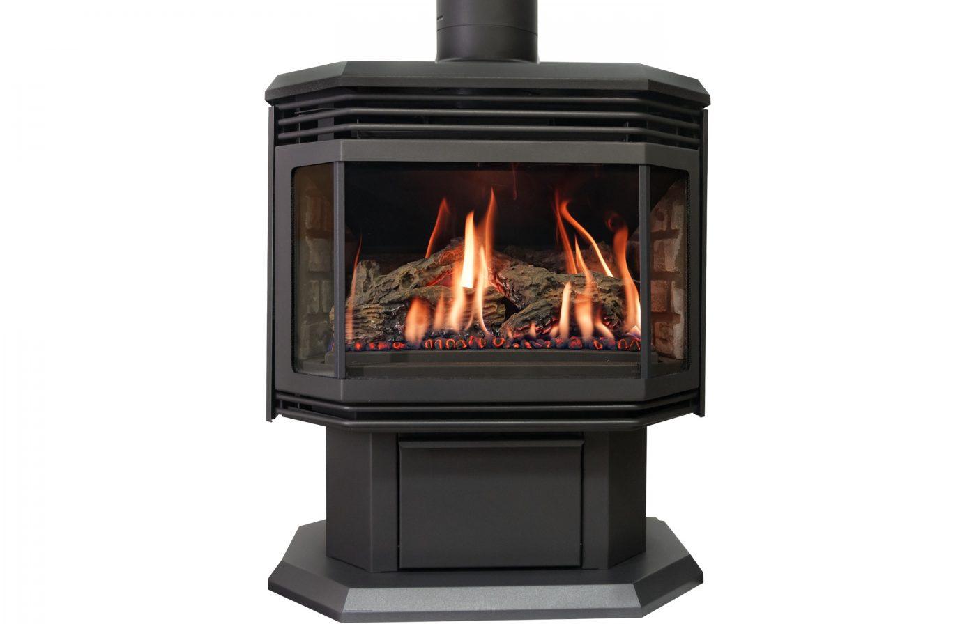 lynnwood wa fireplace Archgard 45 freestanding black