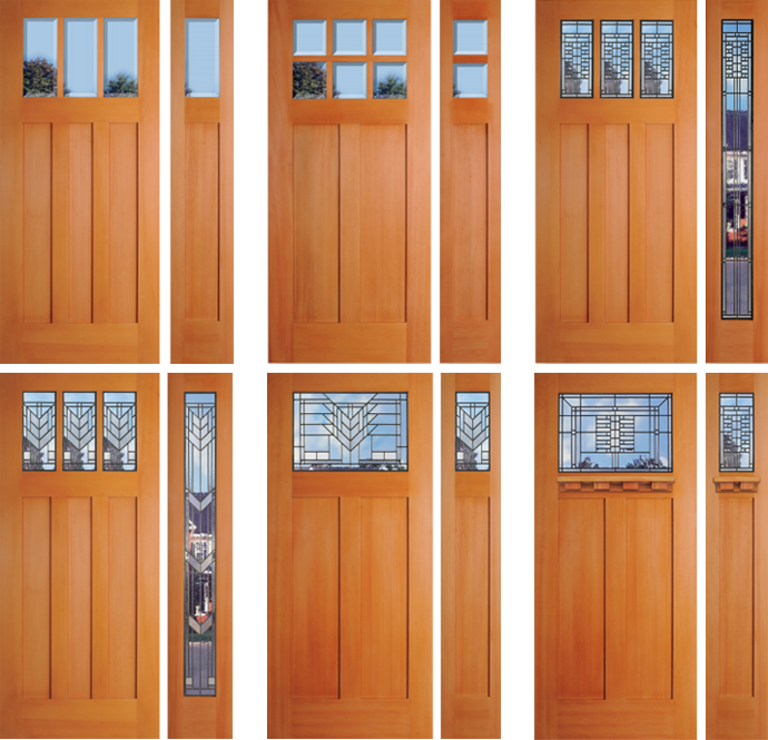 Greater Seattle Douglas Fir Exterior Doors Washington Energy Services