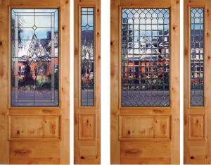 tacoma exterior door with glass sales installation