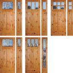 king county wa exterior knotty alder door installation