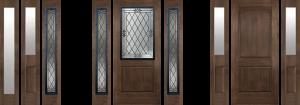 bellevue wa rustic side glass door for sale