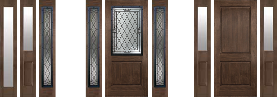 Everett Wa Fiberglass Doors Rustic Collection