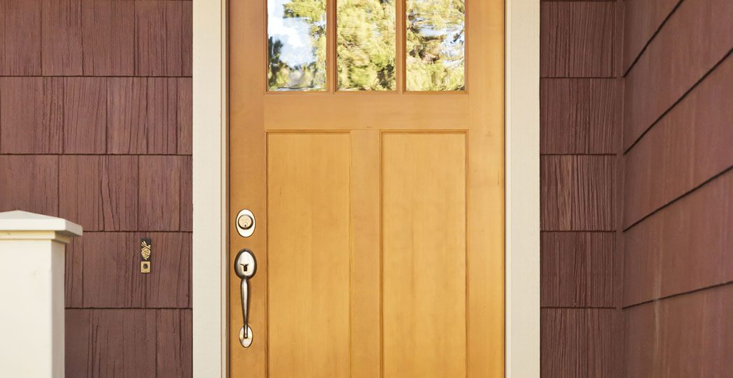 Front Door Materials Wood Or Fiberglass Washington Energy Services