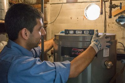 crm water heater install