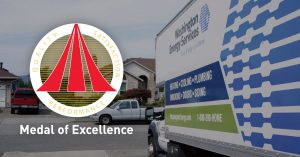 Washington Energy Services wins the 2018 Metal of Excellence award