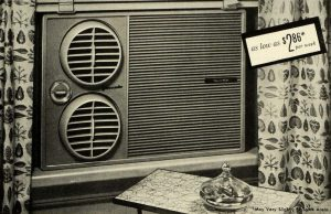 Air conditioner from the 1960s.